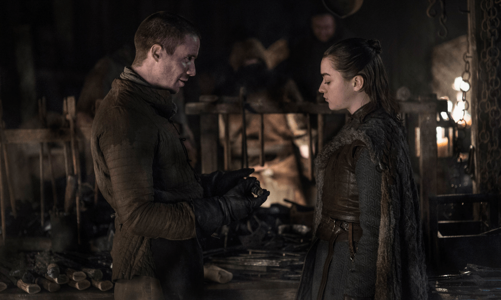 "Game of Thrones: Maisie Williams parla di ""quella scena"" tra Arya e Gendry nella 8x02"